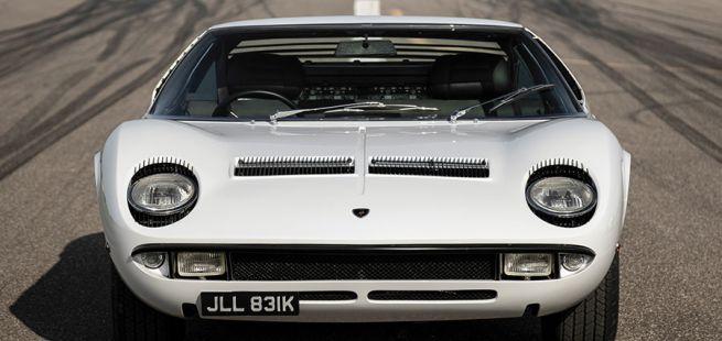 Front des Lamborghini Miura