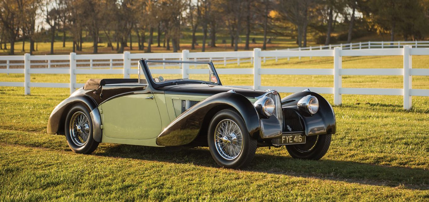 Bugatti Typ 57S Cabriolet Vanvooren