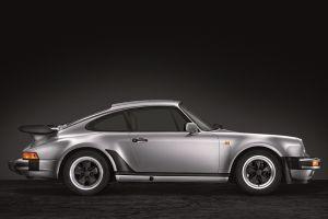 Seitenansicht des Porsche 911