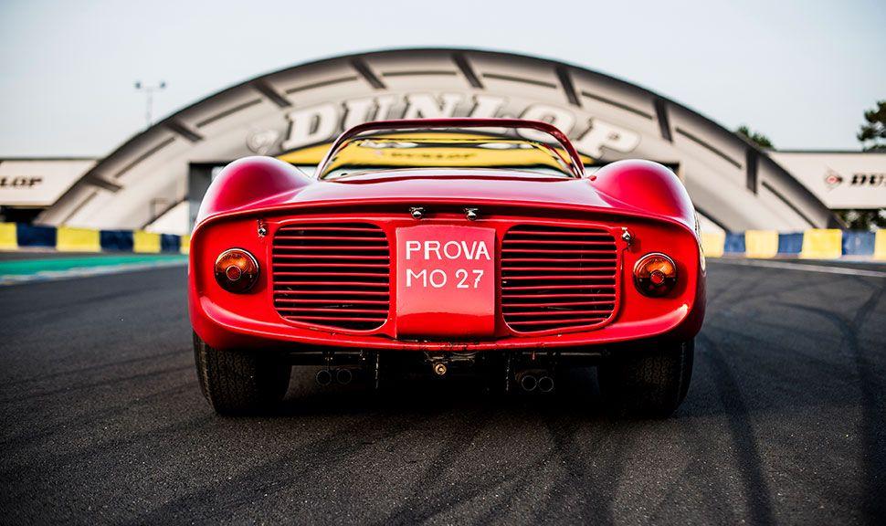Heck des Ferrari 275 P