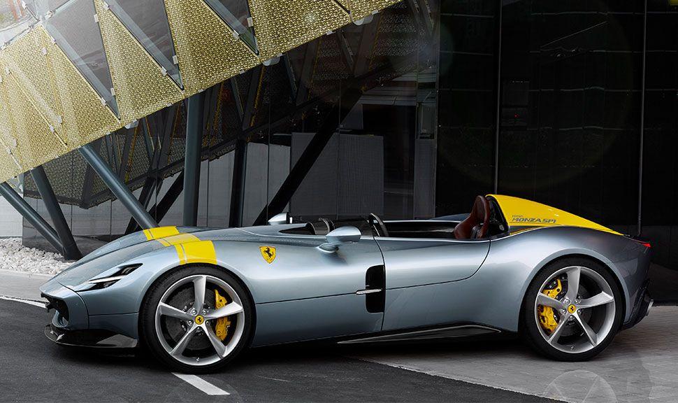 Ferrari SP1 in der Seitenansicht