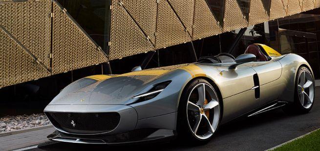 Ferrari SP1 Front und Seitenansicht