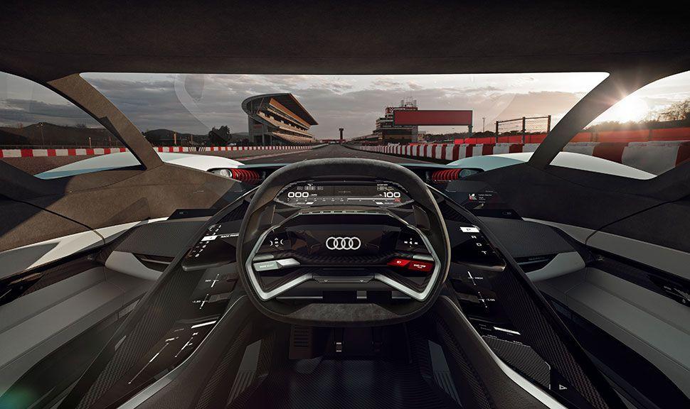 Cockpit des Audi PB18