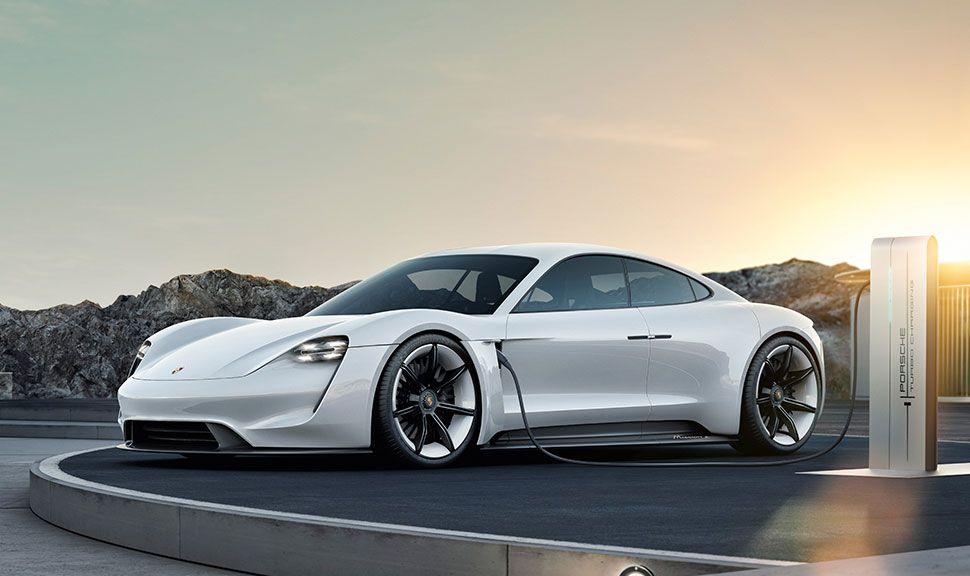 Porsche Taycan: Front und Seite