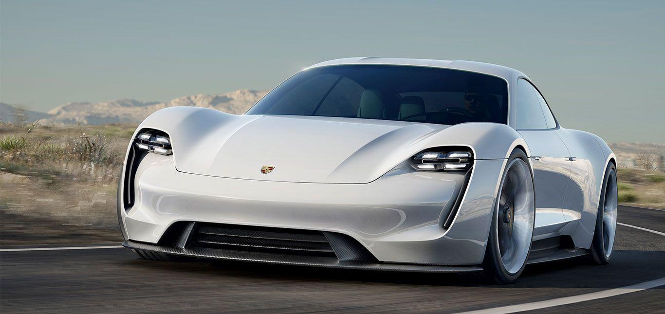 Porsche Taycan: Front