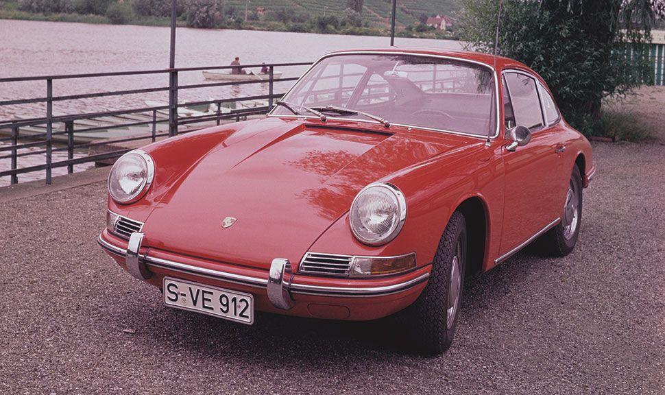 Front des Porsche 912