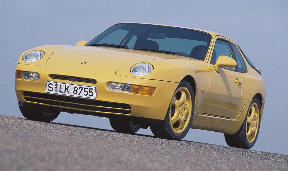 Front des Porsche 968