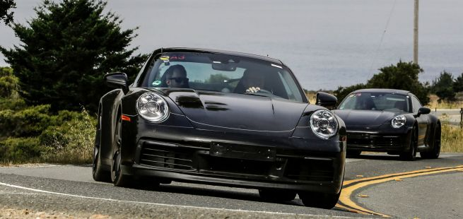 Front des neuen Porsche 911 (992)