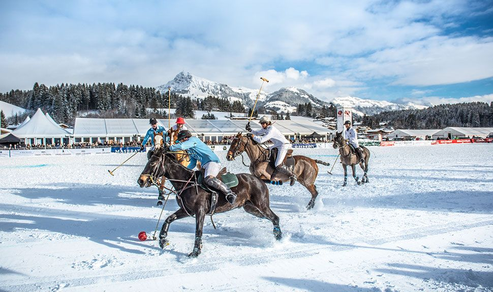 Snow Polo in Kitzbühel