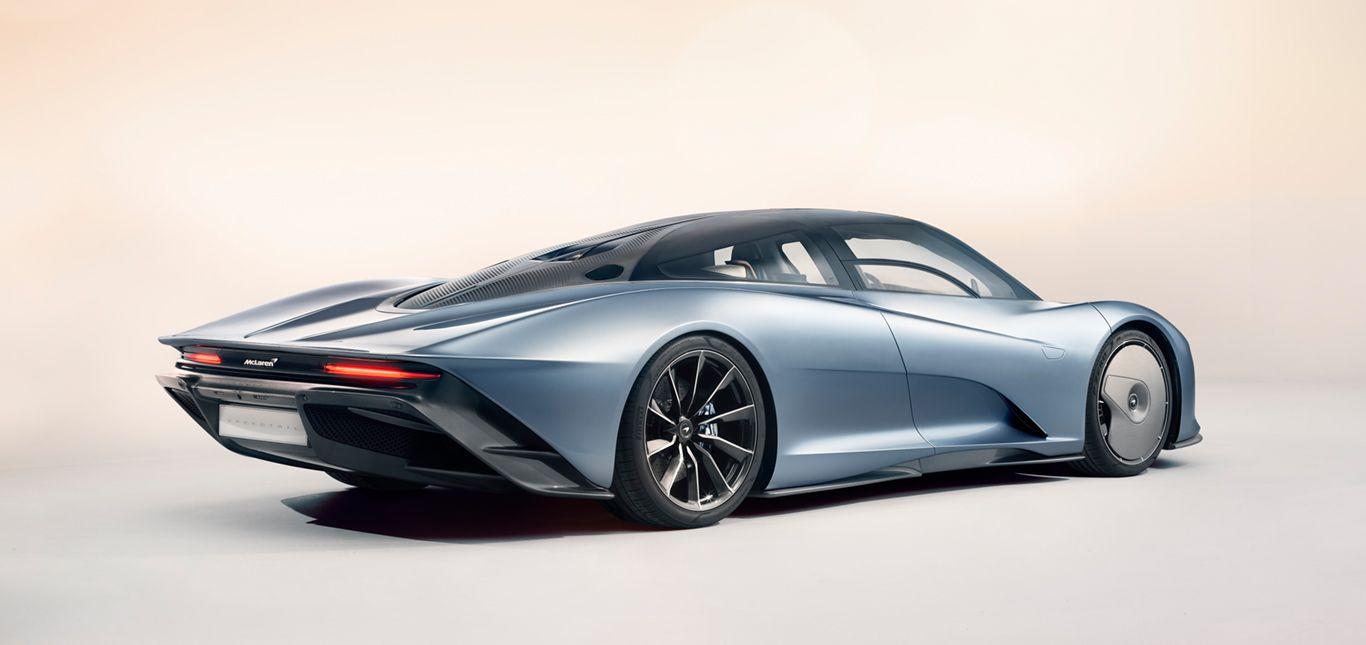 Seitenansicht des McLaren Speedtail