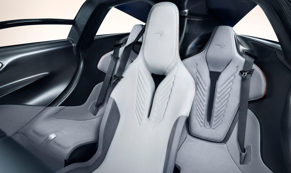 Innenraum des McLaren Speedtail