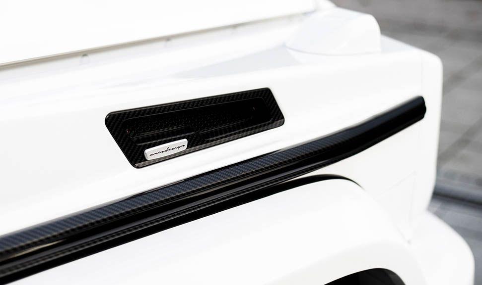 Detailaufnahme rechter Kotflügel Mercedes AMG G63 by ARES Design