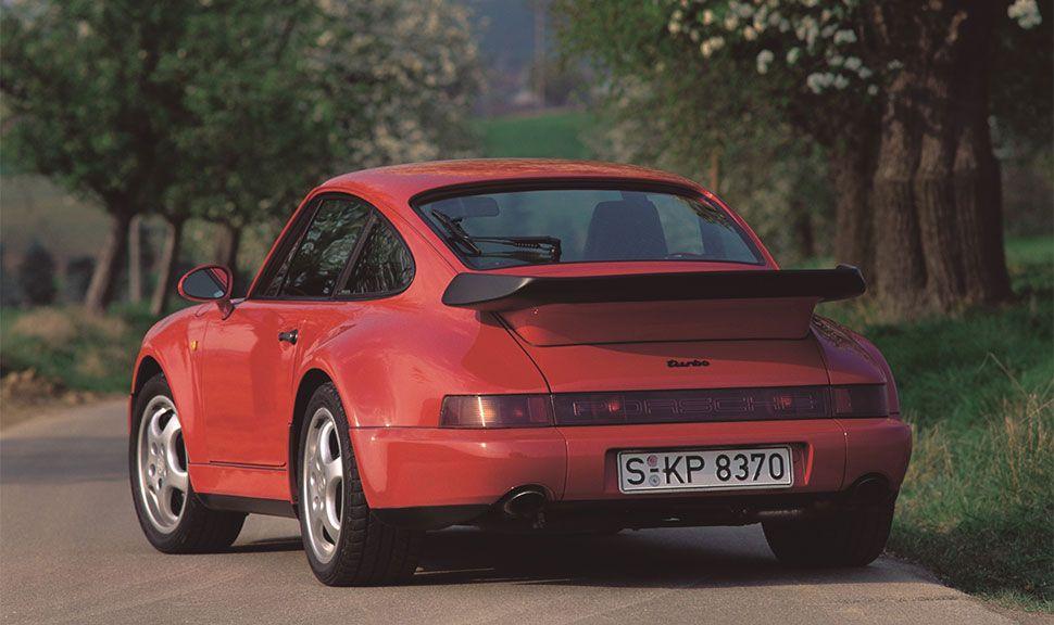 Heck des Porsche 964
