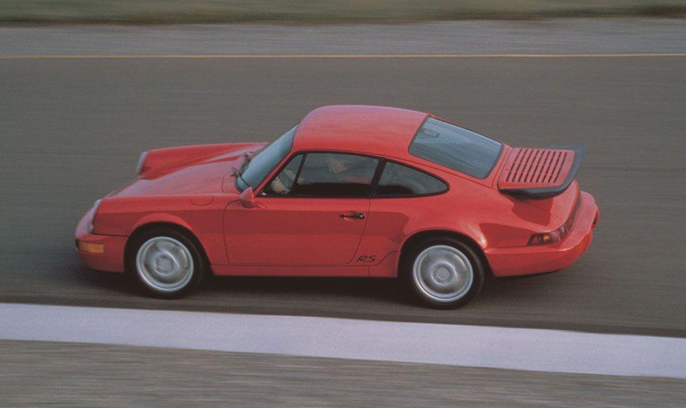 Porsche 964 in der Seitenansicht