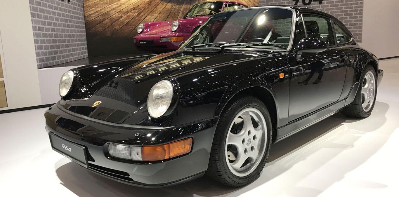 Porsche 964 Front und Seite