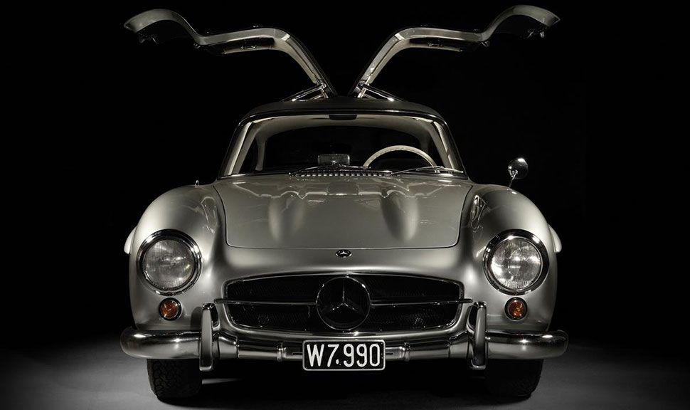 Mercedes 300 SL Gullwing Front