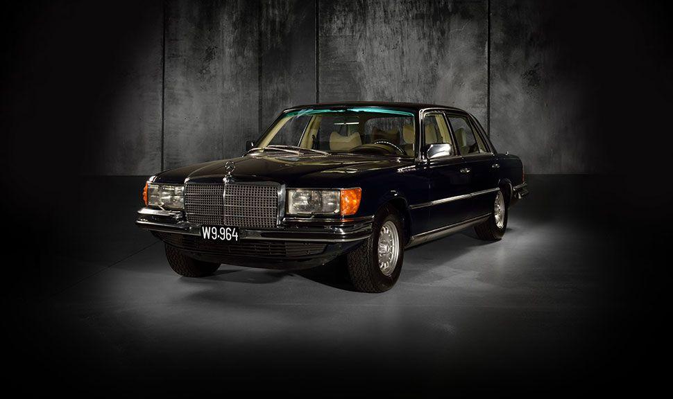 Mercedes 450SEL 6.9 Front und Seite