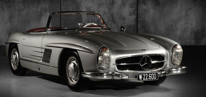 Mercedes 300 S Roadster Seite und Front