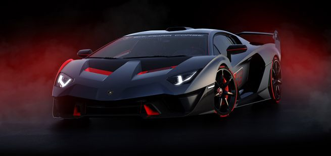 Lamborghini SC 18 Aventador schräg links vorne