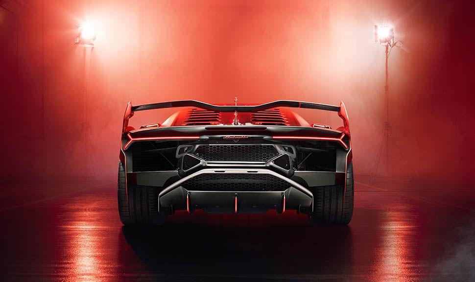 Lamborghini SC 18 Aventador Heckansicht