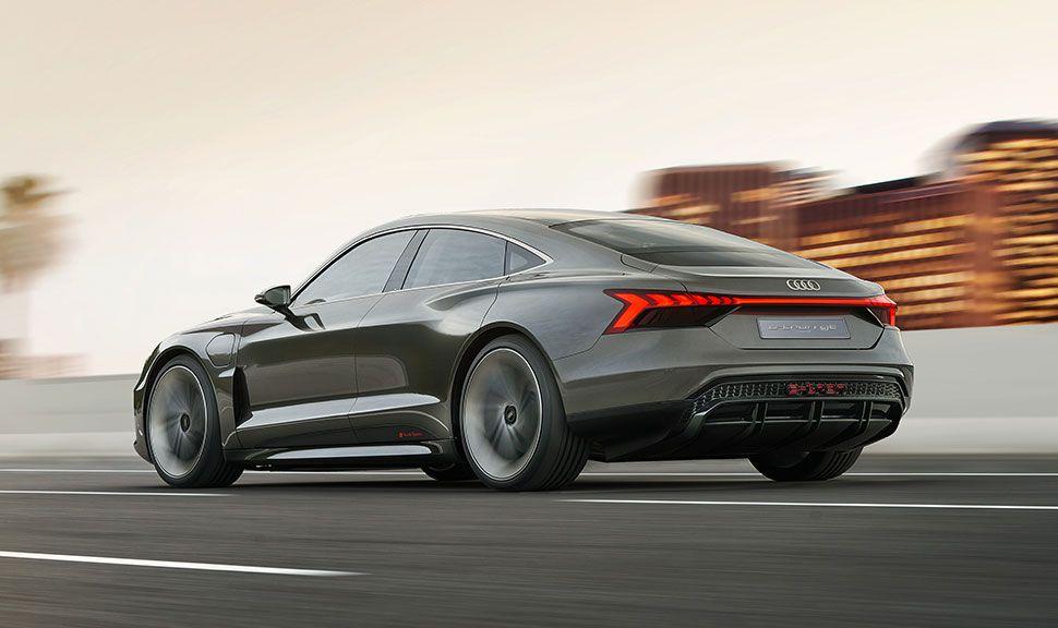 Heck des Audi e-tron GT Concept