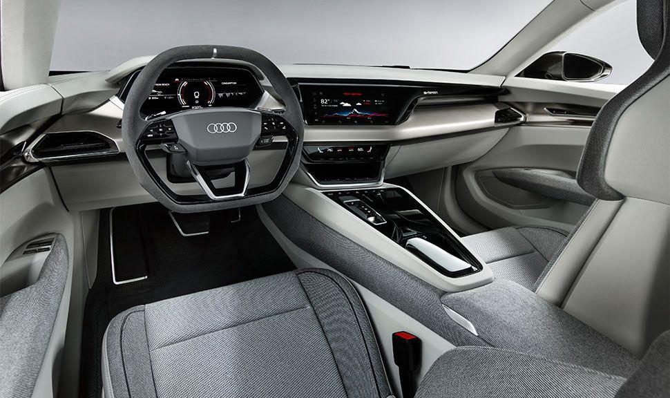 Innenraum des Audi e-tron GT Concept