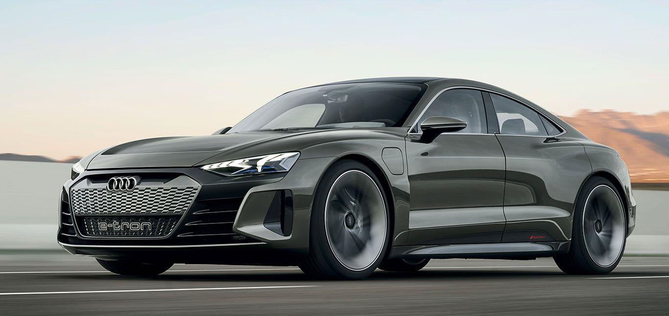 Audi e-tron GT Concept Front und Seite