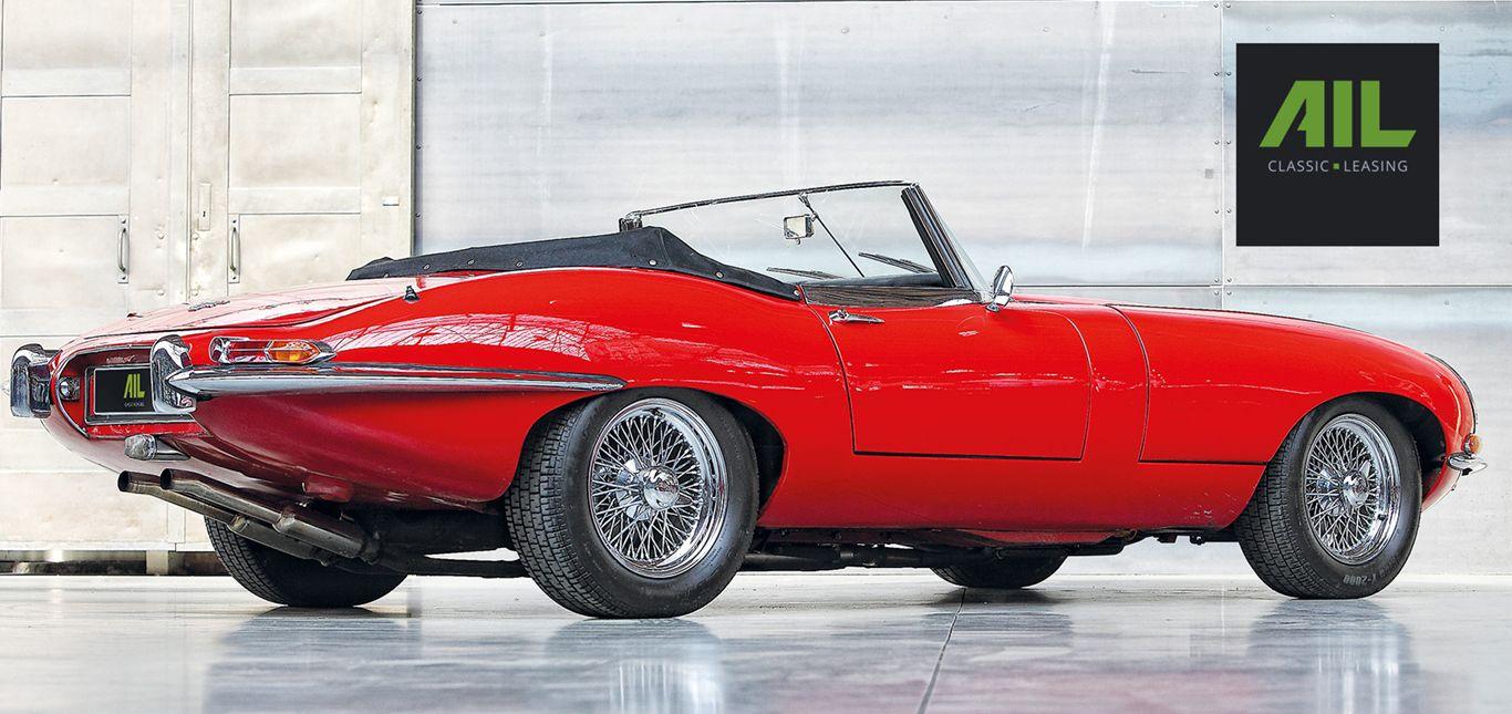 Seitenansicht eines Jaguar.