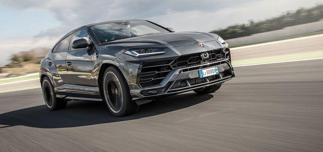 Front des Lamborghini Urus