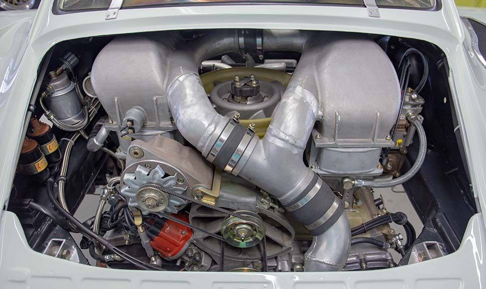 Motor des Porsche 935