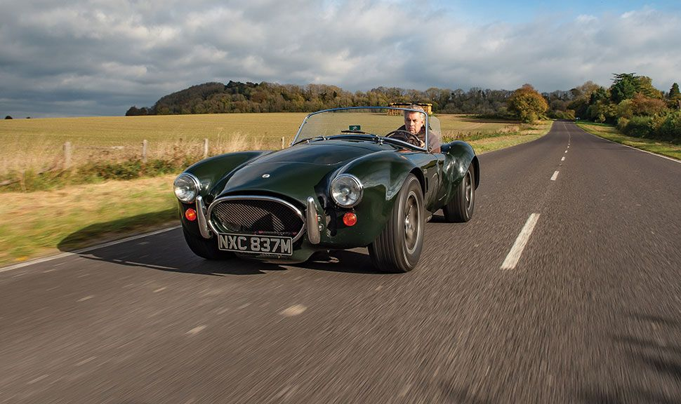AC Shelby Cobra Front