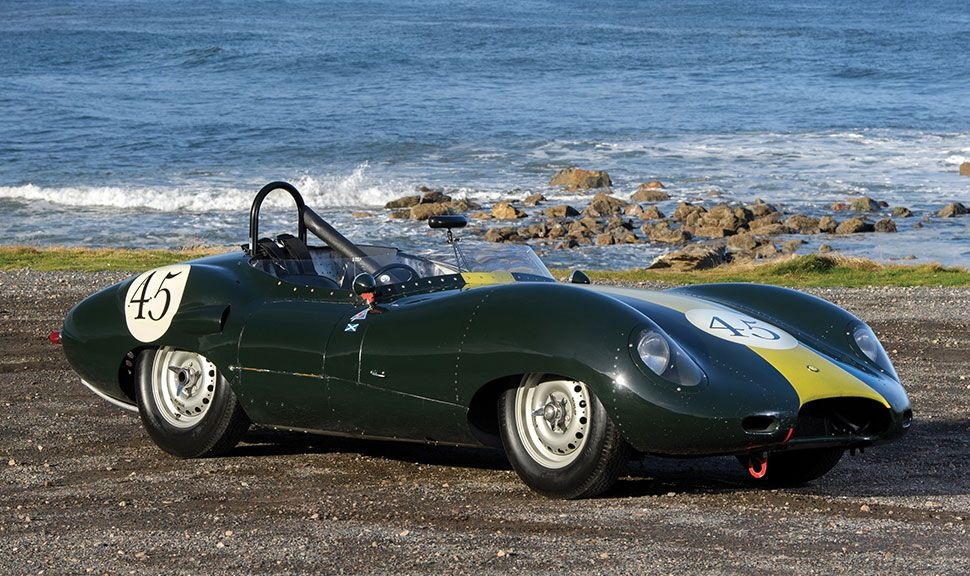 Lister-Jaguar Costin  in der Seitenansicht
