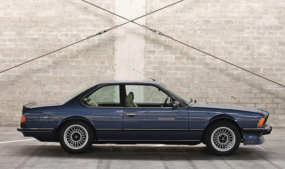 BMW Alpina B7 Turbo in der Seitenansicht
