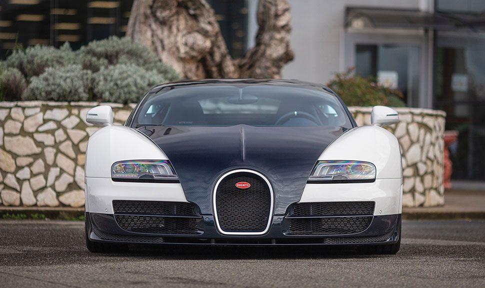 Front des Bugatti Veyron 16.4 Grand Sport Vitesse