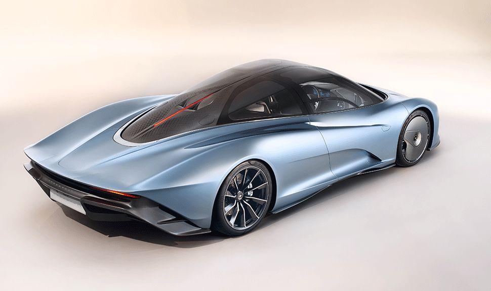 Seite des McLaren Speedtail