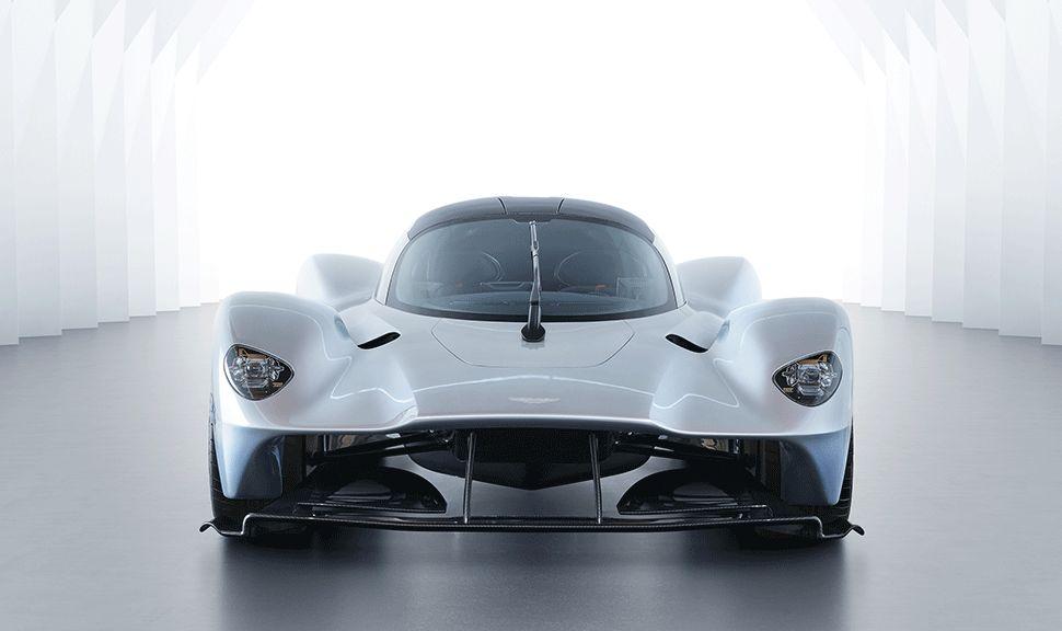Front des Aston Martin Valkyrie