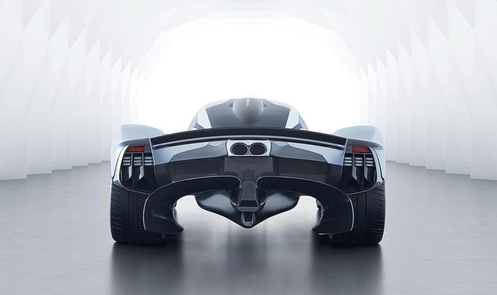 Heck des Aston Martin Valkyrie