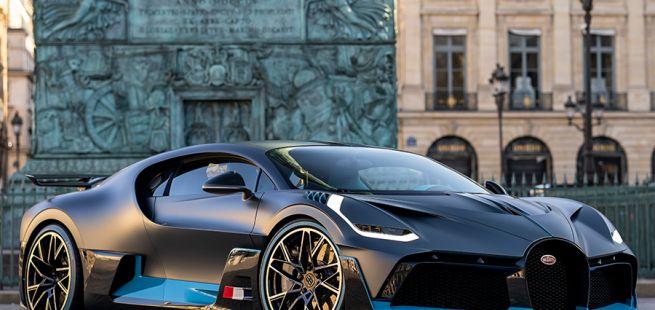 Seite des Bugatti Divo