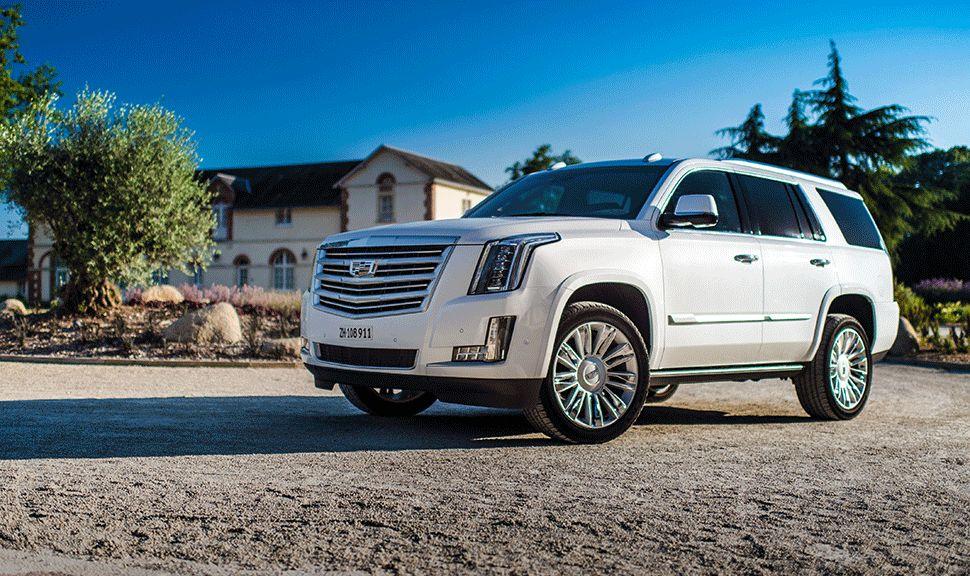 Cadillac Escalade Seitenansicht