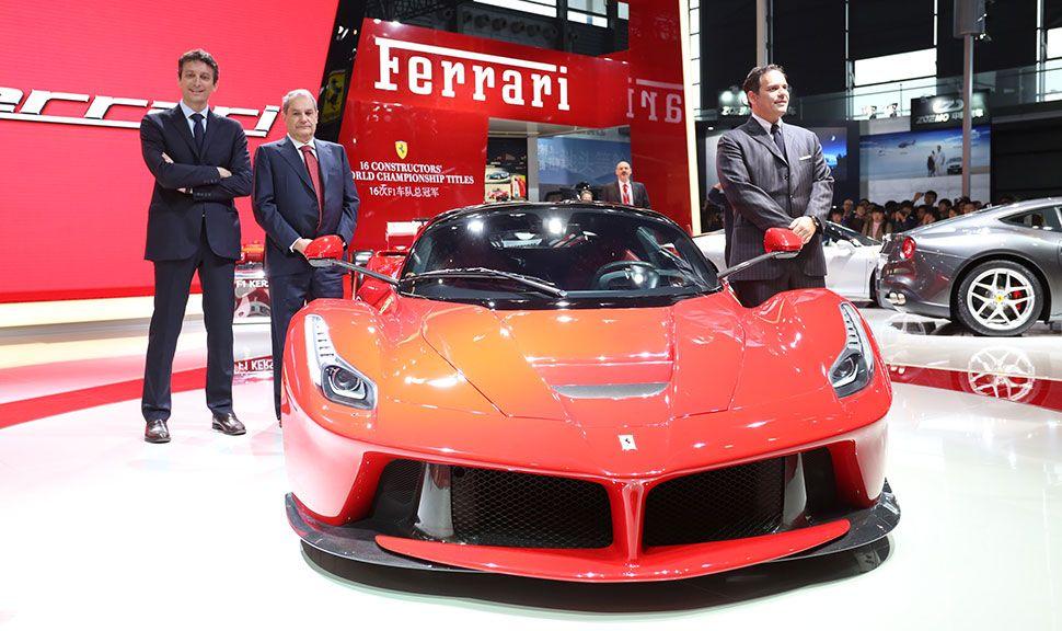 Front des Ferrari LaFerrari