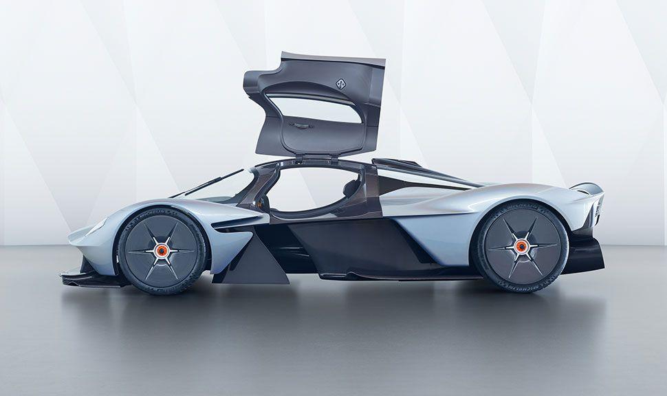 Seitenansicht des Aston Martin Valkyrie