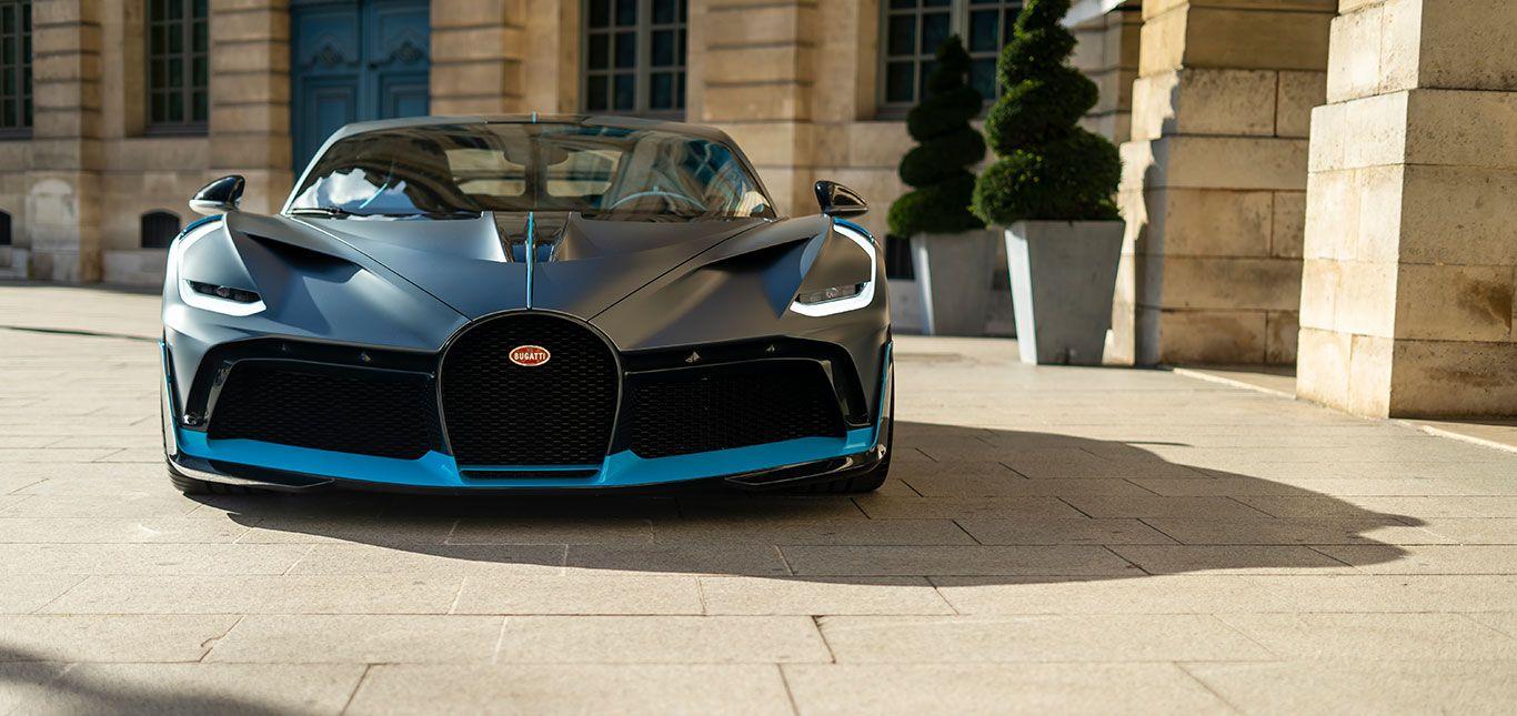 Front des Bugatti Divo