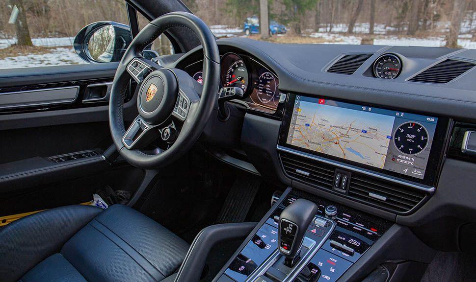 Porsche Cayenne Turbo Cockpit