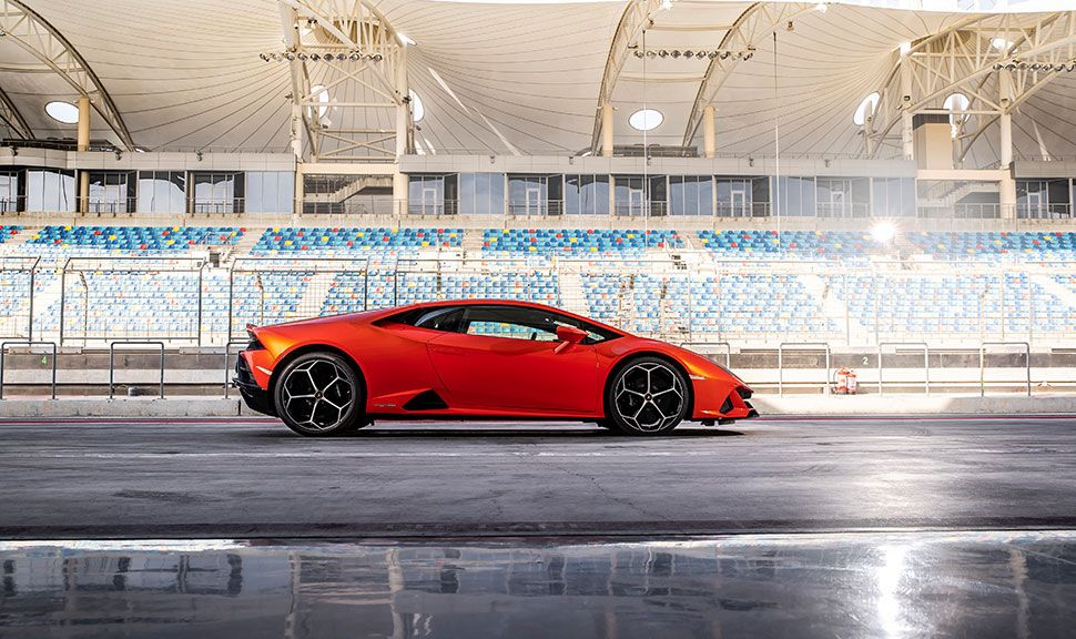 Lamborghini Huracan Seitenansicht
