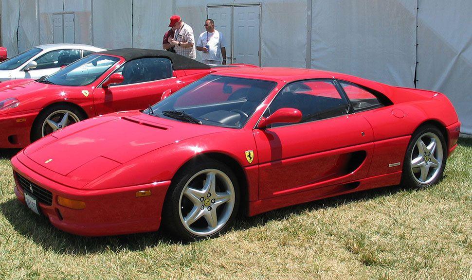 Ferrari F355 Front und Seite