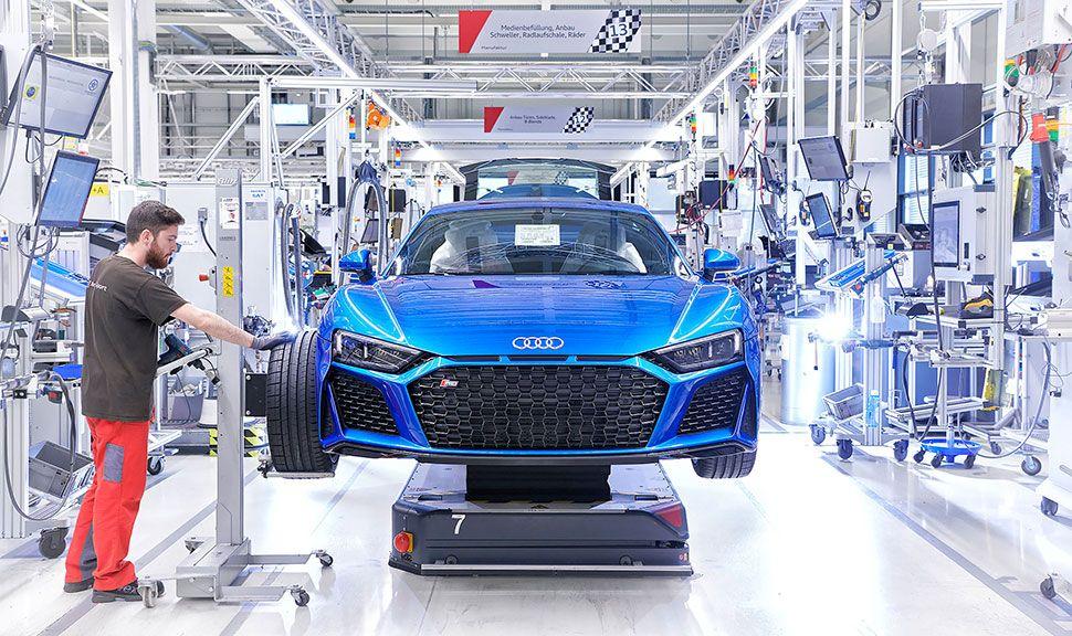 Front des Audi R8