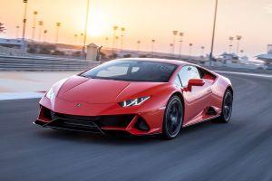 Lamborghini Huracan auf der Rennstrecke