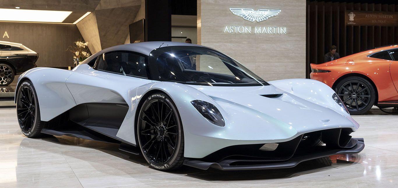 Aston Martin AM-RB 003 schräg rechts vorne