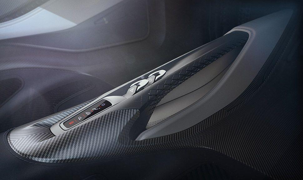 Aston Martin AM-RB 003 Innenraum Haltegriff