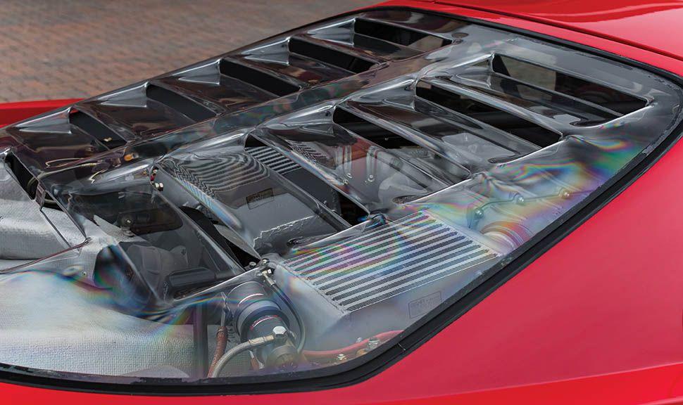 Ferrari F40 Motorhaube